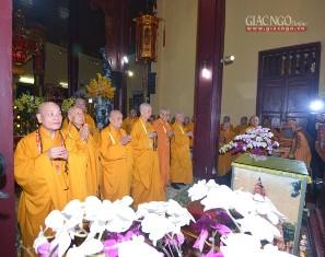 Đại Hội Đại Biểu Phật Giáo Toàn Quốc Lần Thứ VIII, Nhiệm Kỳ 2017 - 2022: Lễ Cầu Nguyện Trước Giờ Khai Mạc Đại Hội VIII