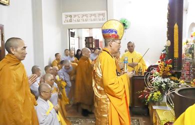 TP.BMT:Lễ húy kỵ HT. Thích Viên Đức tổ khai sơn chùa Dược Sư