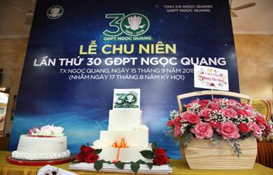 Lễ Chu niên lần thứ 30 GĐPT Ngọc Quang TP. Buôn Ma Thuột