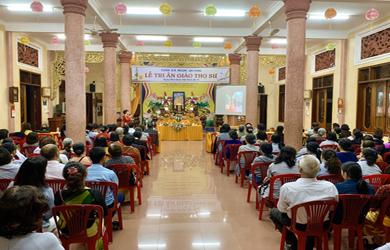 Lễ Tri Ân Giáo Thọ Sư Tịnh Xá Ngọc Quang