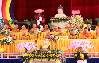 Thường trực BTS PG Đắk Lắk dự Lễ đăt đá xây dựng chùa Tỉnh hội Phật giáo Bình Phước