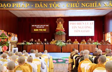 Ban Tôn giáo tỉnh Đắk Lắk phổ biến Luật  tín ngưỡng, Tôn giáo