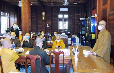 Ban Thường trực Ban Trị sự GHPGVN Đắk Lắk họp định kỳ