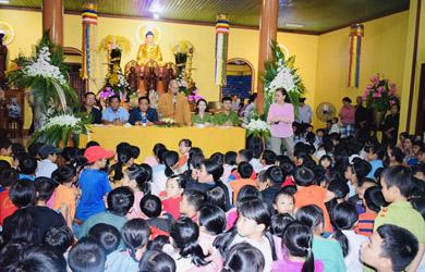 Krông Bông: Đêm Hội Trăng Rằm chùa Phước Vân huyện Krông Bông