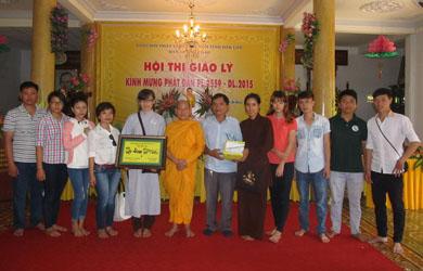 ĐĂK LĂK : Hội thi Giáo Lý Mừng Phật Đản PL 2559