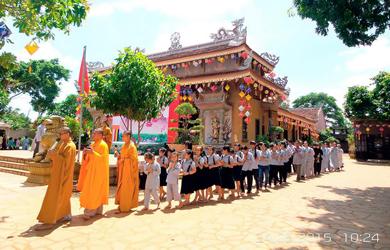 Khóa tu Một ngày An lạc tại chùa Hoa Nghiêm huyện Cư M'gar