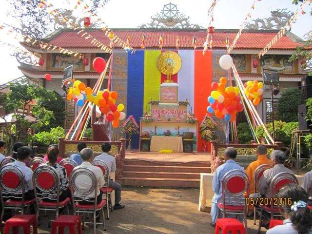 Đại lễ Phật đản chùa Phước Hòa thuộc phường Khánh Xuân TP. Buôn Ma Thuột