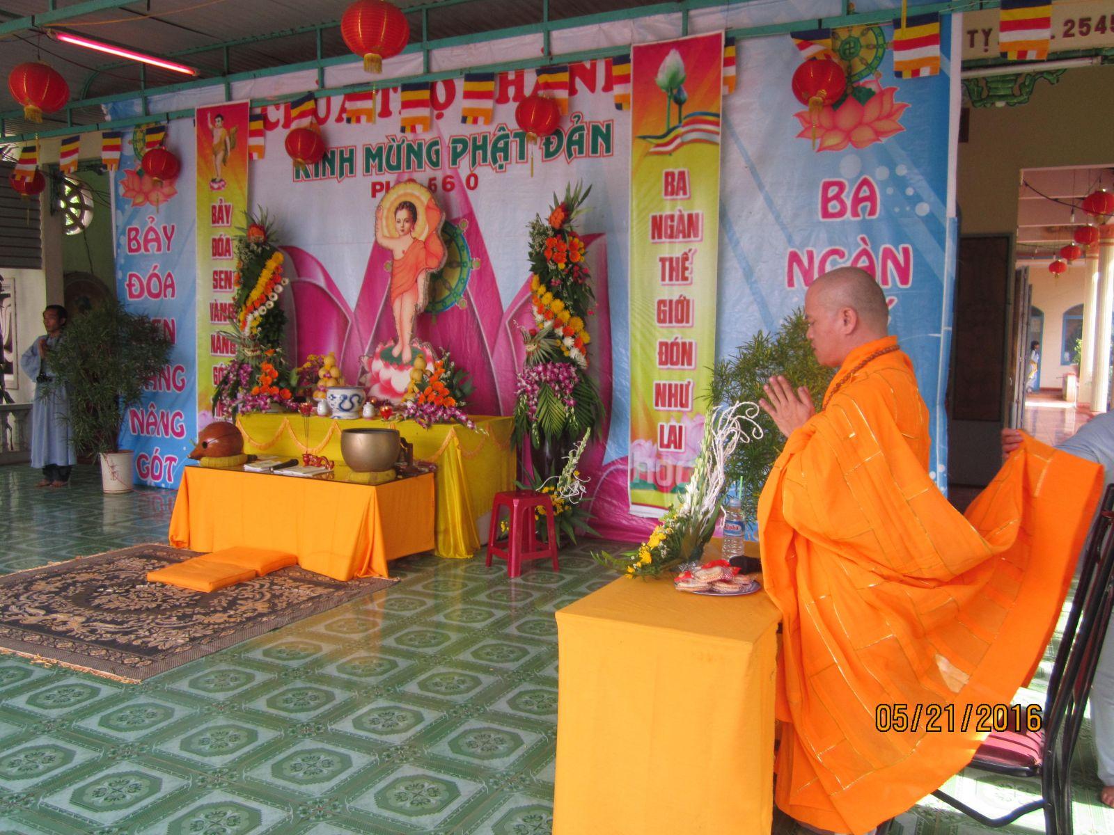 Tin và Ảnh Đại Lễ Phật Đản PL 2560 Các chùa phía tây nam thành phố Buôn Ma Thuột