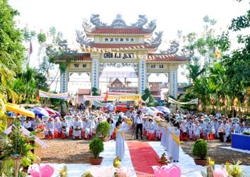 Đại lễ Phật Đản tại chùa Kim Quang huyện Krông Năng