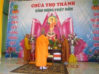 Đại Lễ Phật Đản tại chùa Thọ Thành