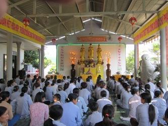 Đại lễ Phật Đản tại chùa Thiên An
