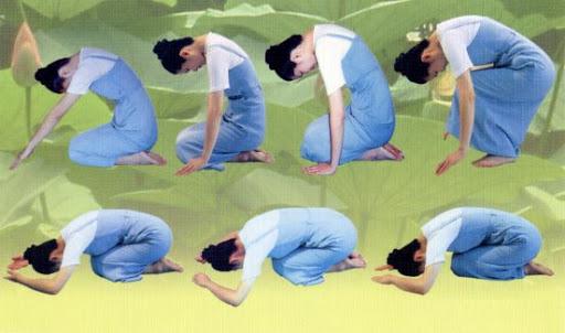"""Các động tác lạy Phật & một vài lưu ý (Tiếp theo bài viết """"Lạy Phật và những trải nghiệm của tự thân"""")"""