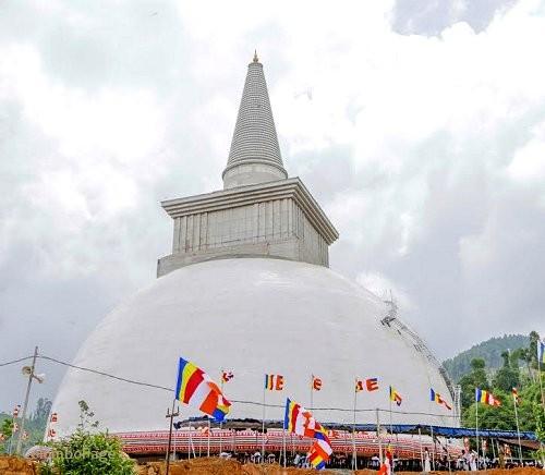 Sri Lanka khánh thành và khai môn bảo tháp Mahaweli Maha Seya