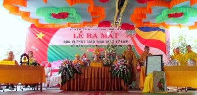 Lễ Công Nhận Điểm Sinh Hoạt Phật Giáo Từ Lâm, Thị trấn EaDrăng-Huyện Ea H