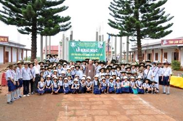 Daklak- Huyện Krông Năng. GĐPT tổ chức Trại Huấn luyện AnoMa Ni Liên – Tuyết Sơn