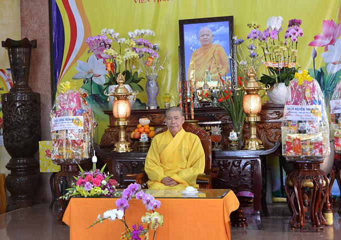 Khóa tu Bát Quan Trai đầu năm Đinh Dậu tại Tịnh xá Ngọc Quang