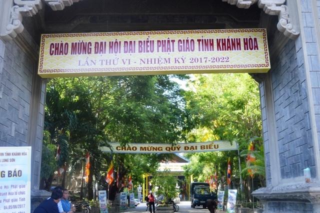 Đại hội đại biểu Phật giáo (ĐHĐBPG) tỉnh Khánh Hòa lần thứ VI nhiệm kỳ 2017-2022