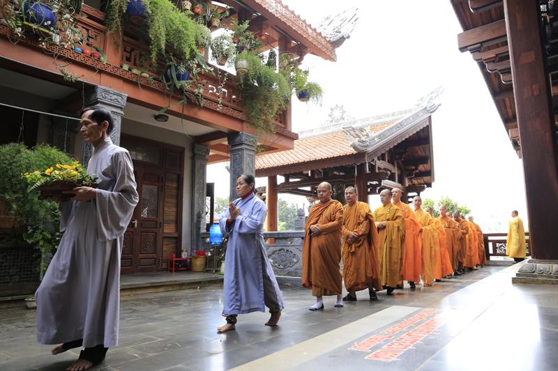 Khoá tu Cư sĩ Phật tử nhân ngày Phật Thành Đạo PL 2562-DL 2019