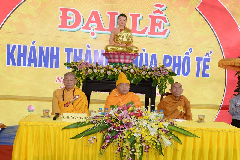 Lễ khánh thành chùa Phổ Tế, xã Bình thuận, Thị xã Buôn hồ, tỉnh Đak Lak