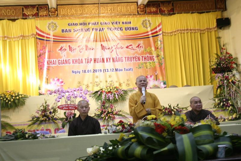 Ban TT-TT PG Đak Lak tham gia Khóa 2 tập huấn truyền thông Phật giáo