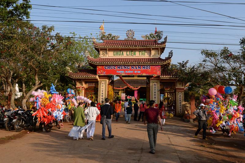 Không khí đón xuân tại chùa Liên trì năm kỷ hợi 2019