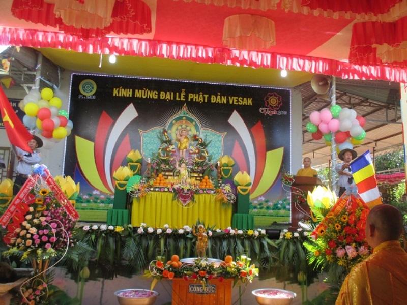 BTS GHPGVN huyện Eahleo long trọng tổ chức Đại Lễ Phật Đản PL 2563 DL 2019