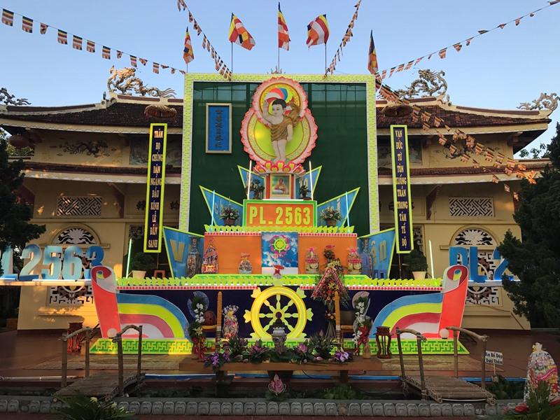 Ban Trị Sự Phật Giáo huyện Krông Păc tổ chức Đại Lễ Vesak 2019 PL.2563