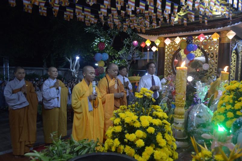 Chùa Phổ Quang huyện CưMgar kính mừng Đại Lễ Phật Đản PL.2563