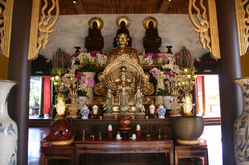 Lễ an vị Phật tại chùa Linh Phong, huyện CưMgar