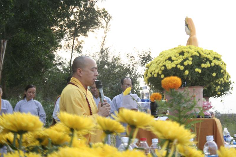 Chùa Hoa Nghiêm, huyện Cư Mgar phóng sanh đầu năm Kỷ Hợi