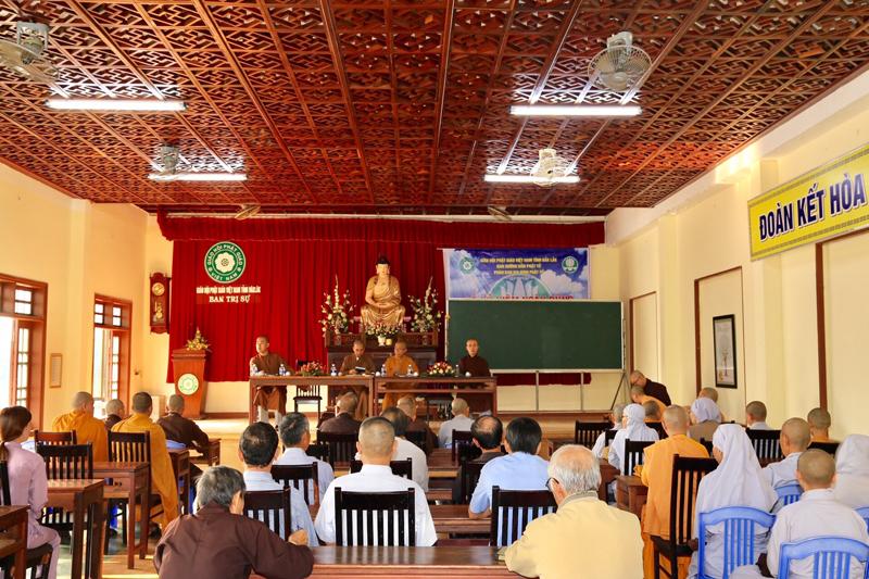 Phật giáo thành phố Buôn Ma Thuột họp triển khai Đại lễ Phật đản Vesak LHQ 2019