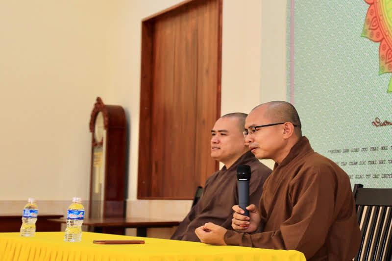 Khoá tu Thai giáo lần 1 buổi học 3 tại Chùa Sắc Tứ Khải Đoan