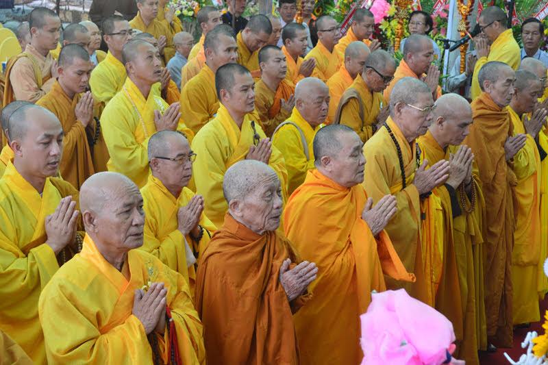 Lễ Động thổ, Tái thiết các công trình tại chùa Phổ Minh Tp.Buôn MaThuột
