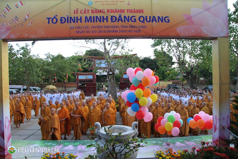 Lễ Khánh thành Tổ Đình và tưởng niệm 65 năm Tổ sư Minh Đăng Quang vắng bóng
