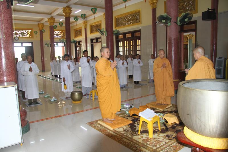TX Ngọc Bửu huyện Eakar tổ chức khoá tu một ngày an lạc