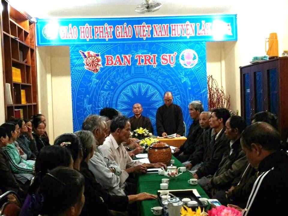 Phật giáo huyện Lắk họp triển khai Đại lễ Phật đản Vesak LHQ 2019