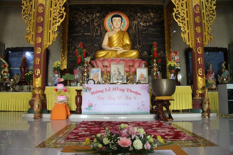 Lễ Hằng thuận tại Tịnh Xá Ngọc Bửu huyện Eakar
