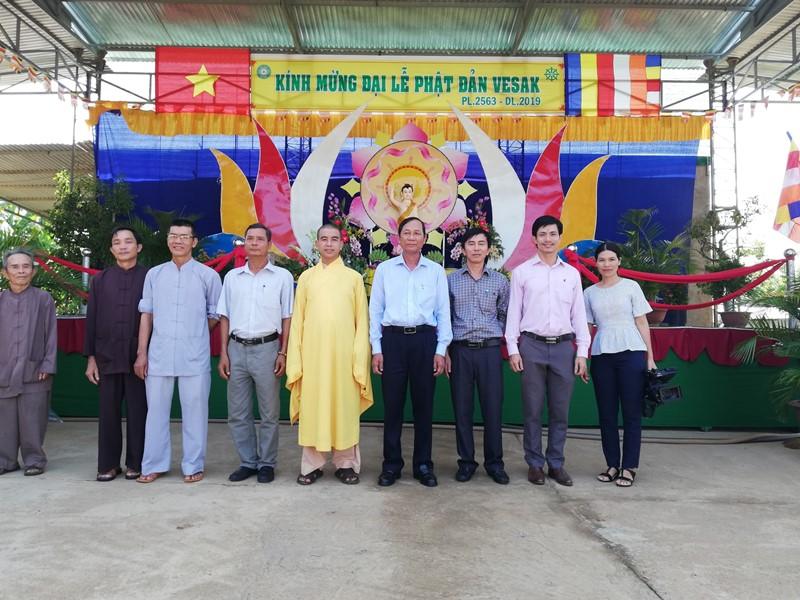 Lãnh đạo chính quyền huyện thăm PG huyện Krông ana