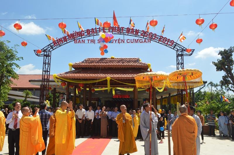 Ban Trị Sự Phật Giáo huyện Cưmgar tổ chức Đại Lễ Phật đản DL.2019 PL.2563