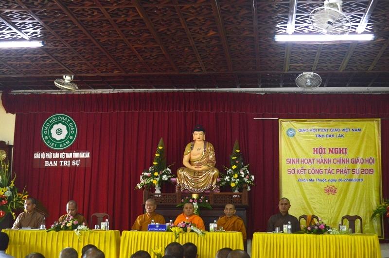 Phật giáo Đak Lak khai mạc hội nghị sinh hoạt hành chánh giáo hội