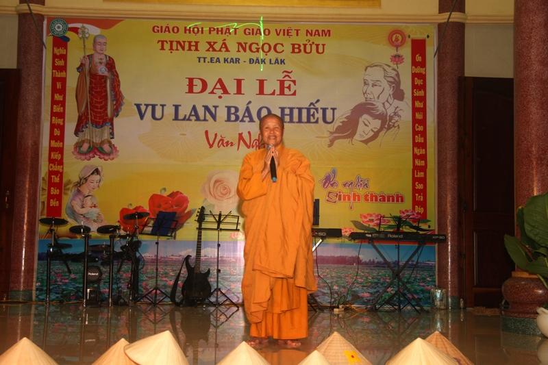 Tịnh xá Ngọc Bửu, huyện EaKar tổ chức đêm văn nghệ nhân ngày Vu Lan