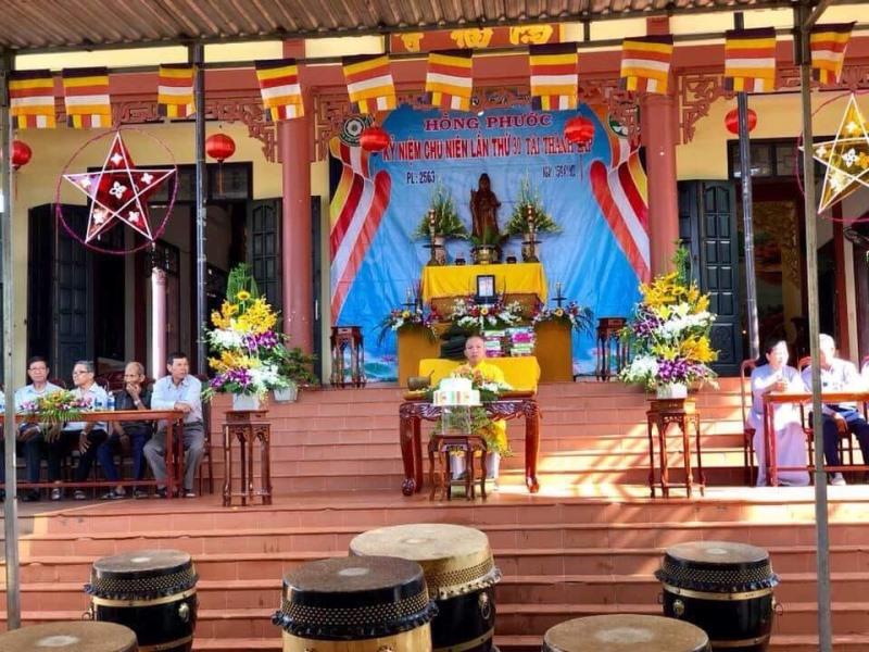 Lễ Chu niên lần thứ 30 tái thành lập GĐPT Hồng Phước