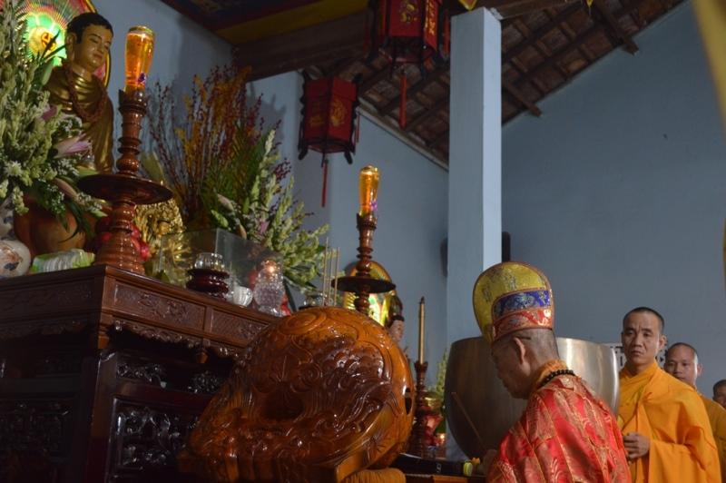 Lễ hiệp kỵ các Hương linh và cúng dường trai Tăng tại chùa Quán Thế Âm, huyện Eakar