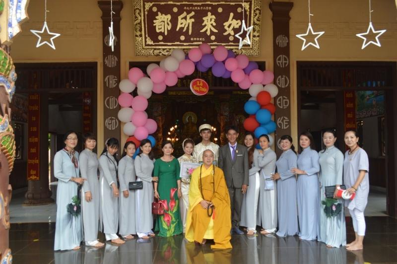 Lễ Hằng thuận tổ chức tại chùa Hoa Nghiêm, huyện Cư