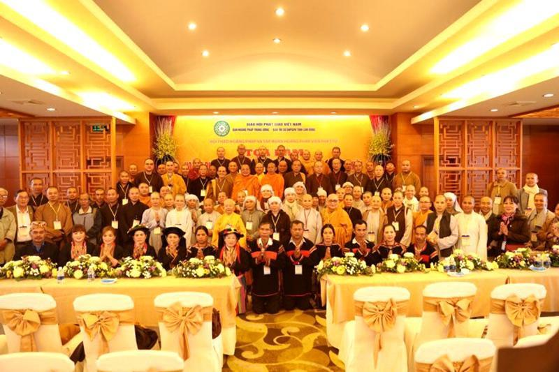 Ban Hoằng pháp tham dự hội thảo Hoằng pháp tại tỉnh Lâm Đồng