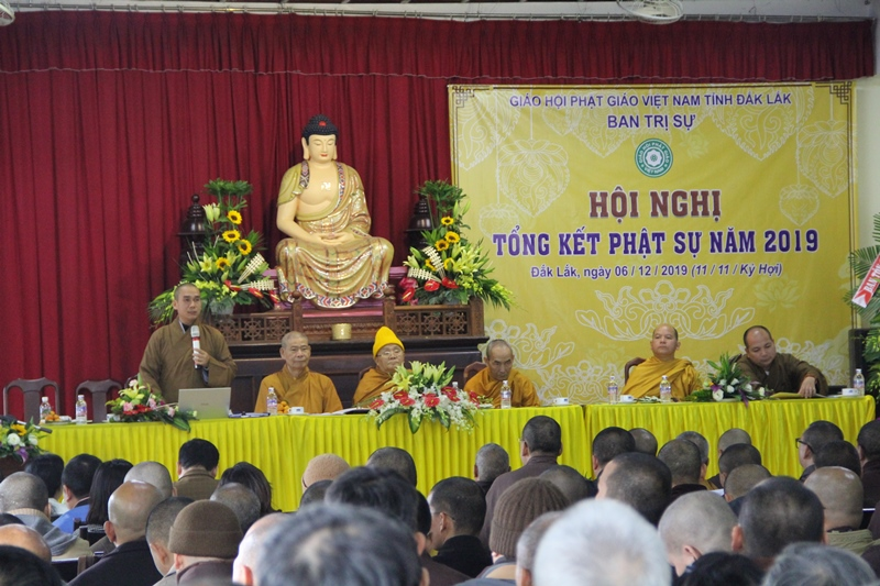 Phật giáo Đak Lak tổng kết công tác Phật sự năm 2019