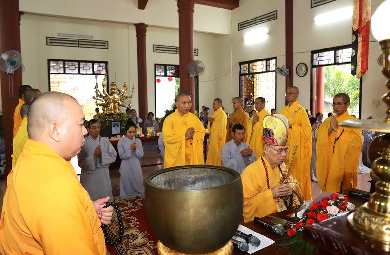 Lễ Hiệp Kỵ và An vị Phật tại chùa Hồng Phước, thành phố Buôn Ma Thuột