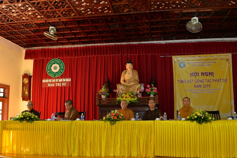 Phật giáo thành phố Buôn Ma Thuột tổng kết công tác Phật sự năm 2019