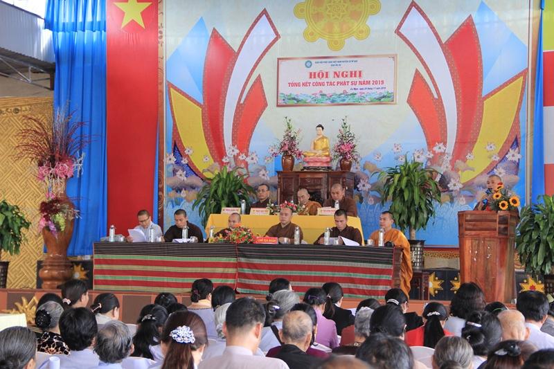 Phật giáo huyện CưMgar tổng kết công tác Phật sự năm 2019