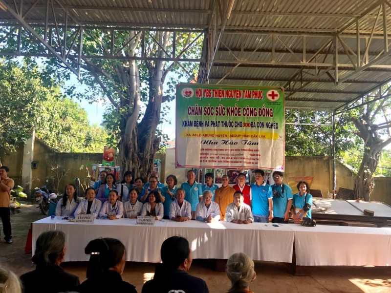 Chương trình thiện nguyện tại huyện Easup